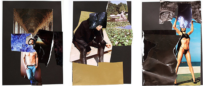 Jacqueline Fraser The Making of Breathless, 2011, 2011; collage; enquire
