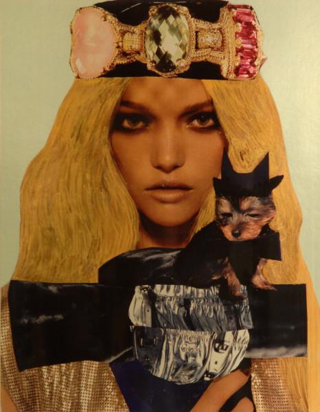 Jacqueline Fraser She's a faux Marilyn Minter fraudster, darling, 2007; She's a faux Marilyn Minter fraudster, darling.; 100 x 100 cm (framed); enquire