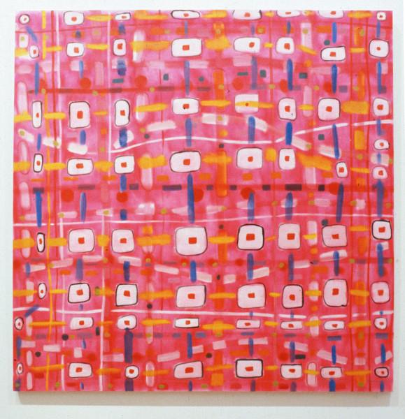 Angela Brennan Untitled, 1993; oil on canvas; 138 x 138 cm; enquire