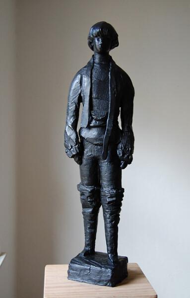 Linda Marrinon Defeated Serf, 2010; bronze; 83 x 23 x 19 cm; Edition of 3 + AP 2; enquire