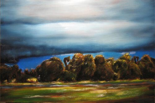 Louise Hearman Untitled #1097, 2005; oil on masonite; 61 x 92 cm; enquire