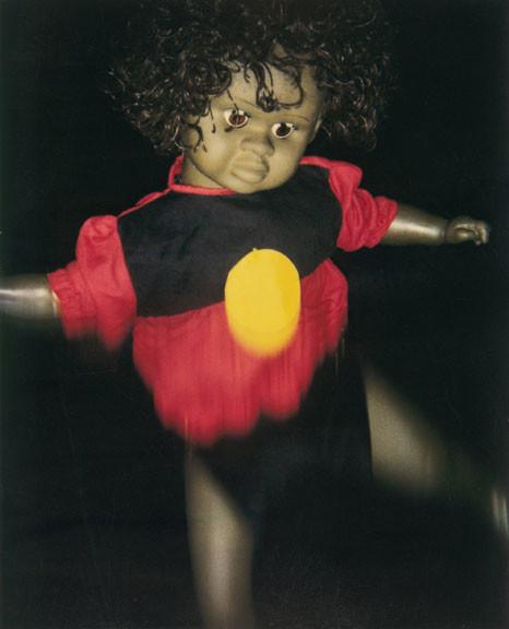 Destiny Deacon Dance Little Lady (c), 1994-00; Photograph; 70 x 56 cm; 90 x 76 cm (paper size), set of 4 images; Edition of 15; enquire
