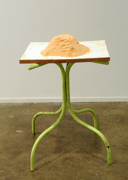 Hany Armanious Word of mouth, 2009; cast pigmented polyurethane resin; 85 x 55 x 50 cm; enquire