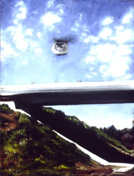 Louise Hearman Untitled #824, 2001; Oil on masonite; 91 x 69 cm; enquire