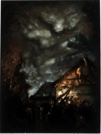 Louise Hearman Untitled #448, 1996; oil on masonite; 92 x 69 cm; enquire