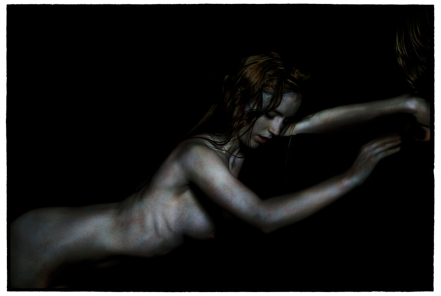 Bill Henson Untitled #7, 2010-11; AH-C SH104 N34E; archival inkjet pigment print; 127 x 180 cm; Edition of 5 + AP 2; enquire