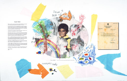 Tracey Moffatt Draw A Map, 2004; Colour inkjet print on archival paper; 118 x 75 cm; enquire