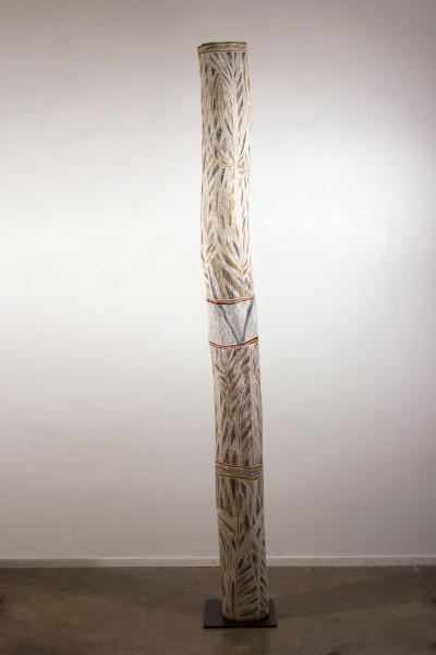 Mulkun Wirrpanda Gulwirri, 2015; 4843H; Larrakitj; 234 cm; Enquire