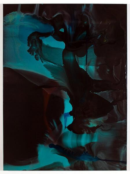 Dale Frank Wedderburn, 2008; varnish on  canvas; 160 x 120 cm; enquire