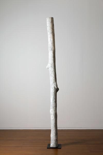 Nyapanyapa Yunupingu Untitled, 2016; 3218-16; Larrakitj; 282 x 22 x 20 cm; enquire