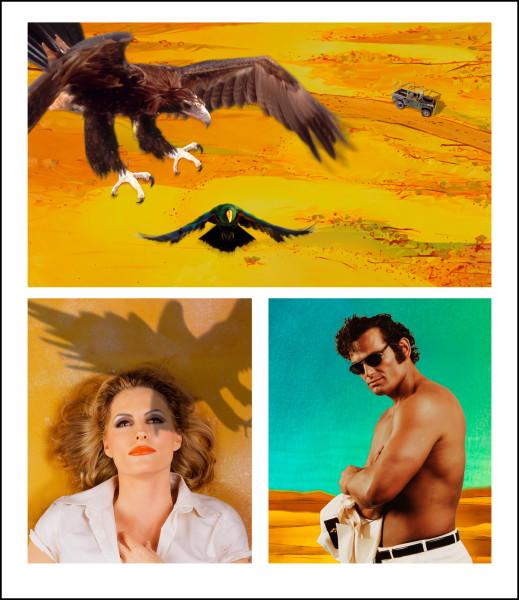 Tracey Moffatt Adventure Series 3, 2004; colour print on Fujiflex paper; 132 x 114 cm; Edition of 25; enquire