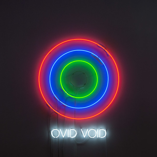 Newell Harry Circle/s in the Round: OVID / VOID, 2010; neon; 135 x 110 x 5 cm; Edition of 5 + AP 2; enquire