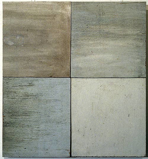 Rosalie Gascoigne Plain View 1, 1994; timber and masonite; 71 x 66 cm; enquire