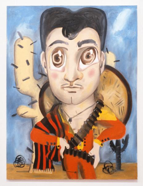 Linda Marrinon A Mexican, 1990; oil on canvas; 122 x 91 cm; enquire