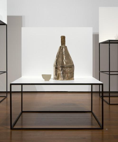 Sanne Mestrom Composition 3, 2013; bronze, ceramic, steel, enamel; 85 x 70 x 60 cm; enquire