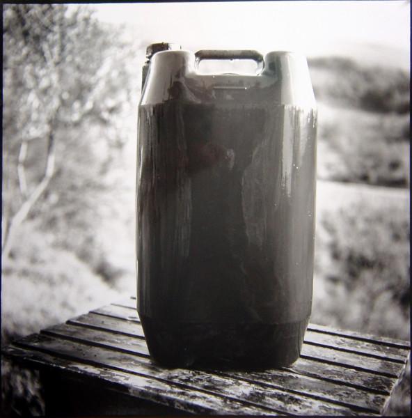 Bill Culbert Wet Plastic Bottle, France, 2002; silver gelatin prints; 40.5 x 40.5 cm; Edition of 25; enquire