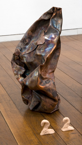 Mikala Dwyer 22, 2009; copper; 43 x 16 x 24 cm; enquire