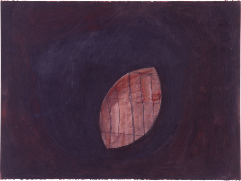 Fiona Foley Untitled III, 1998; charcoal, pastel and wax on paper; 56 x 76 cm; enquire