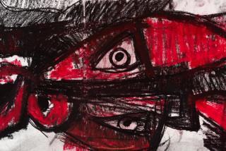 Pierre Mukeba (MUKEBA(self portrait) (detail), 2021; charcoal on archival paper; 60 x 84 cm; enquire