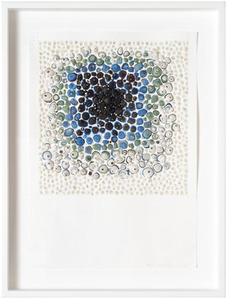 Rohan Wealleans Hole, 2014; paint on paper; 42 x 29.5 cm; enquire