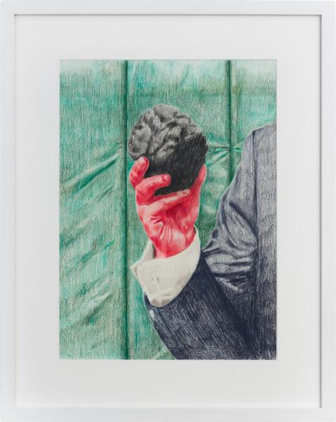 Callum Morton The Prop #1, 2020; pencil on paper; 56.5 x 45 cm; enquire