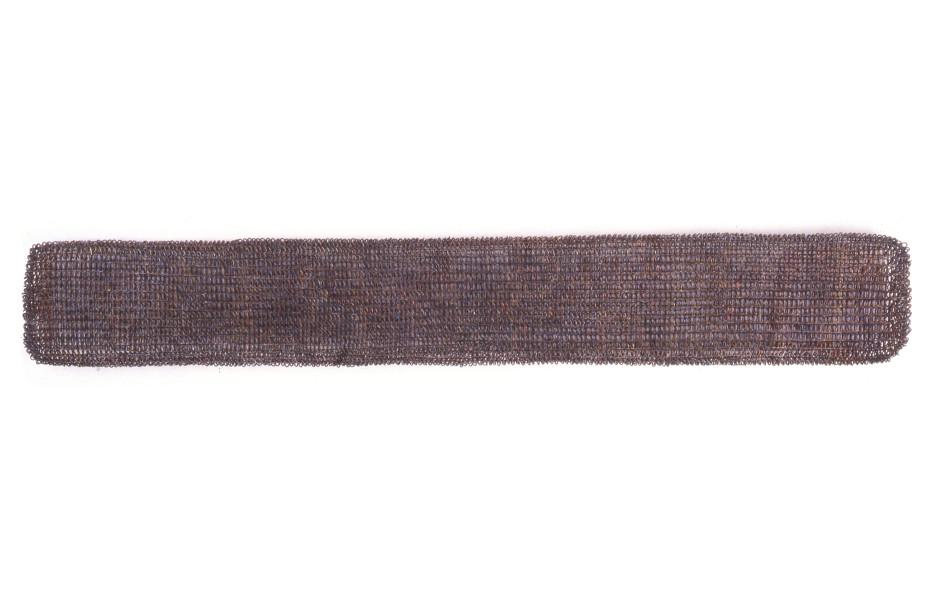 Bronwyn Oliver Band, 1996; copper; 185 x 28 x 10 cm; enquire