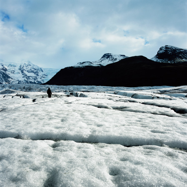 Isaac Julien True North Series, Ice Project Work No. 1, 2006; duratrans in lightbox; 120 x 120 cm; Edition of 6 + AP 1; enquire