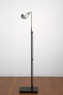 Julie Rrap Instrument: Whistling, 2015; cast aluminium and steel; 156 x 35 x 25 cm; Edition of 5 + AP 1; enquire