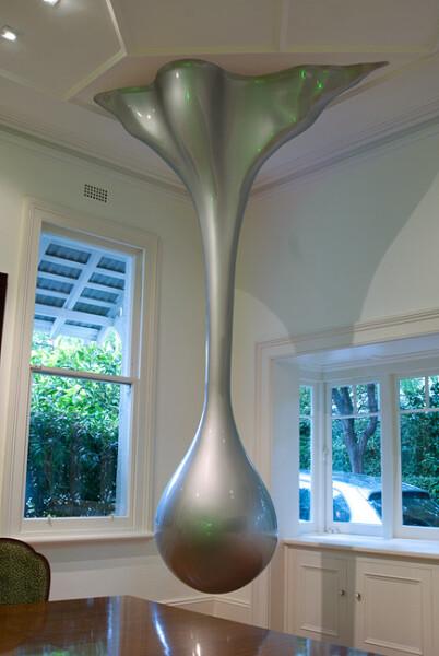 Nell THE DRIP, 2009; wood, PVC, fiberglass, filler, primer, enamel paint; 300 x 160 x 62 cm; private collection Sydney; enquire