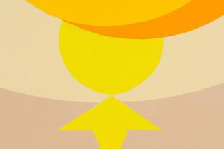 Mikala Dwyer Horizontal Bird (detail), 2021; acrylic on canvas; 198.5 x 244 cm; enquire