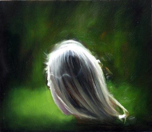 Louise Hearman Untitled #1091, 2004; oil on masonite; 35 x 40 cm; enquire
