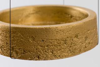 Marley Dawson Ashtray (detail), 2021; cast brass (square lip); 3.5 x 11 x 11 cm; enquire