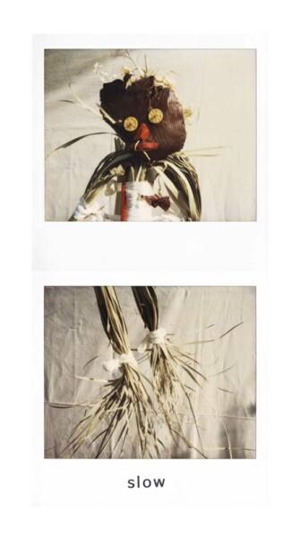 Destiny Deacon Slow, 1998-03; light jet print from Polaroid original; 200 x 100 cm; Edition of 15; enquire