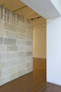 Callum Morton Monument #27, 2011-12; resin, sand, polystyrene, synthetic polymer paint, timber; enquire