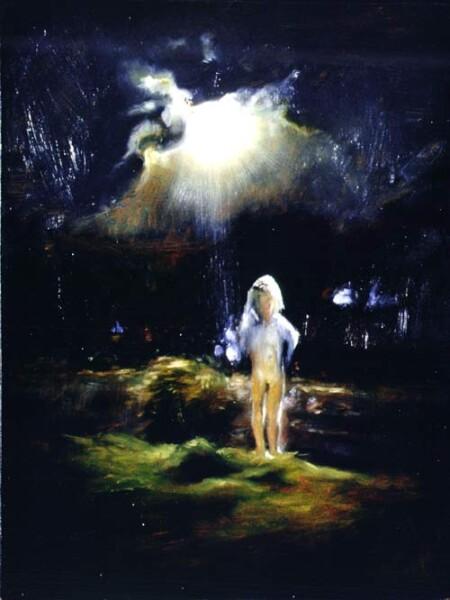 Louise Hearman Untitled #410, 1995; Oil on masonite; 61 x 46 cm; enquire