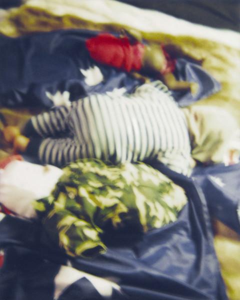 Destiny Deacon Whacked to sleep (C), 2007; Lightjet print from Polaroid original; 100 x 80 cm; Edition of 8 + 2 APs; enquire