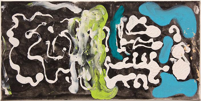 Tony Clark Chinoiserie Landscape, 1988; oil on canvas board; 25.4 x 50.8 cm; enquire