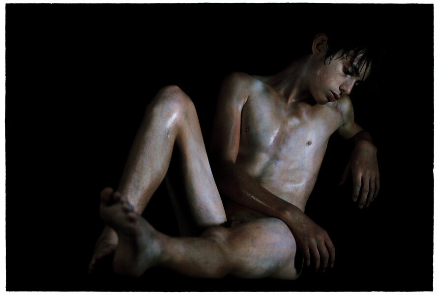 Bill Henson Untitled, 2012-13; LS SH343 N34B; archival inkjet pigment print; 127 x 180 cm; Edition of 5 + 2 AP; enquire