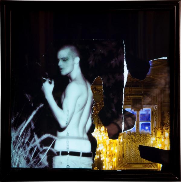 Jacqueline Fraser 'THE MAKING OF LA DOLCE VITA 2011', 2011; LED Light box; 44.5 x 44.5 x 9.5 cm; enquire