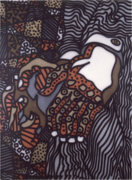 Howard Arkley Hands, 1984; synthetic polymer on canvas; 110 x 150 cm; enquire