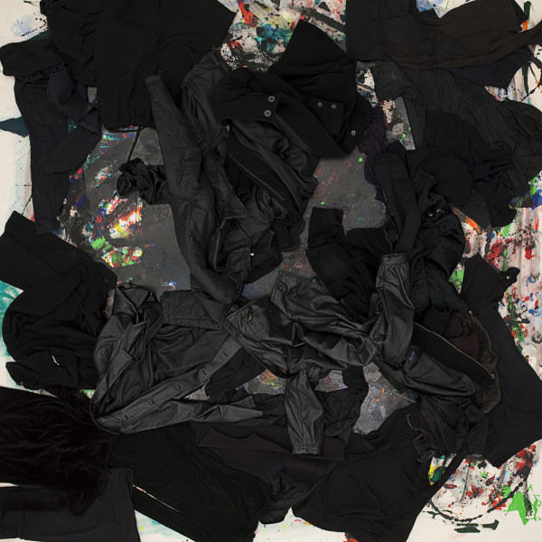 Julie Rrap Loaded: Black #5, 2012; digital print face mounted on perspex ; 126 x 126 cm; Edition of 3 + AP 2; enquire