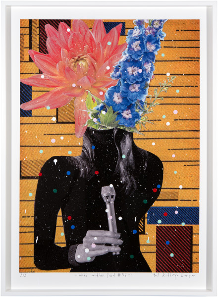 Del Kathryn Barton inside another land #36, 2016; acrylic and archival pigment ink on rag; 96 x 70 cm; (framed) Image size:  90  x 64cm; Edition of 2 + AP 1; enquire