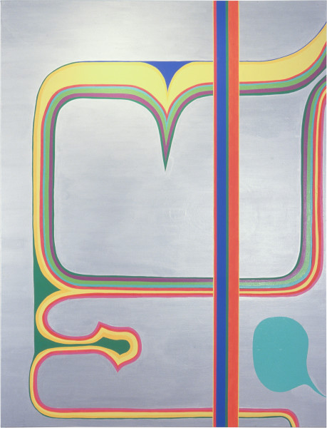 Dale Frank To Marry Tyson from the stable, 2000; acrylic on linen; 260 x 200 cm; enquire