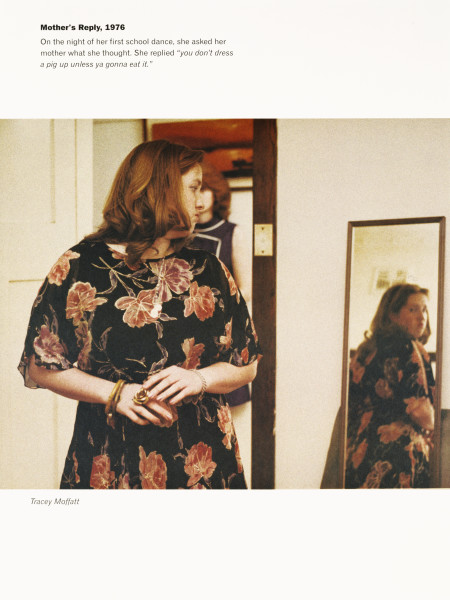 Tracey Moffatt Mother's Reply, 1976, 1999; from the series Scarred For Life II; offset lithograph; 80 x 60 cm; Edition of 60 + 10 APs; enquire