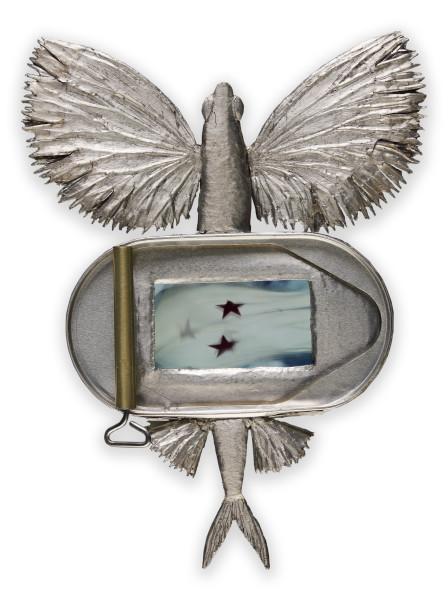 Fiona Hall Shoot the Breeze, 2009-11; aluminium, video; 25 x 19 cm; Edition of 5; enquire