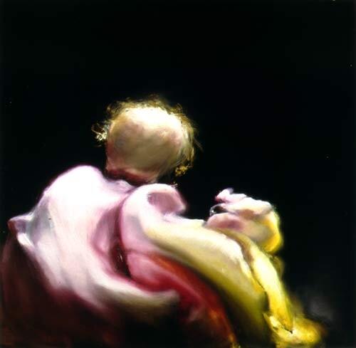 Louise Hearman Untitled #637, 1997; Oil on masonite; 29 x 33 cm; enquire