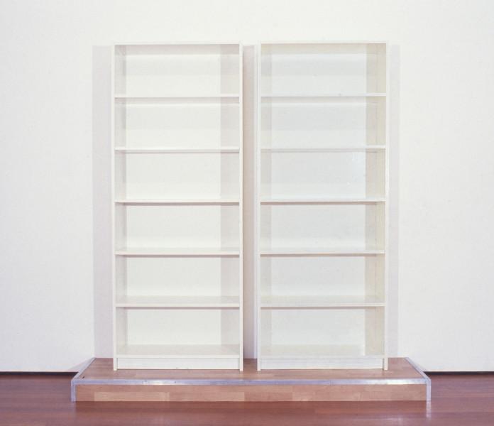 Clay Ketter Billy-Bob, 1998; IKEA book shelves, chipboard, household enamel paint; 212 x 110 x 98 cm; enquire