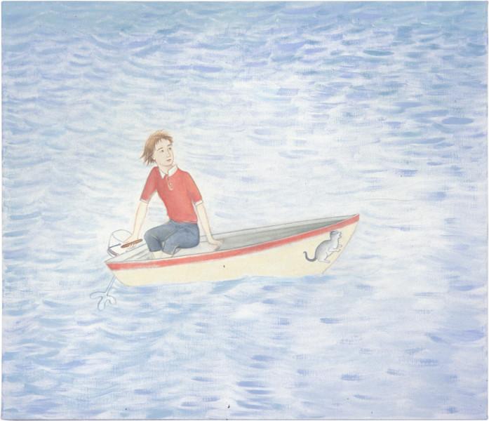 Vivienne Shark LeWitt Evinrude, 2001; oil on linen; 97 x 112 cm; enquire
