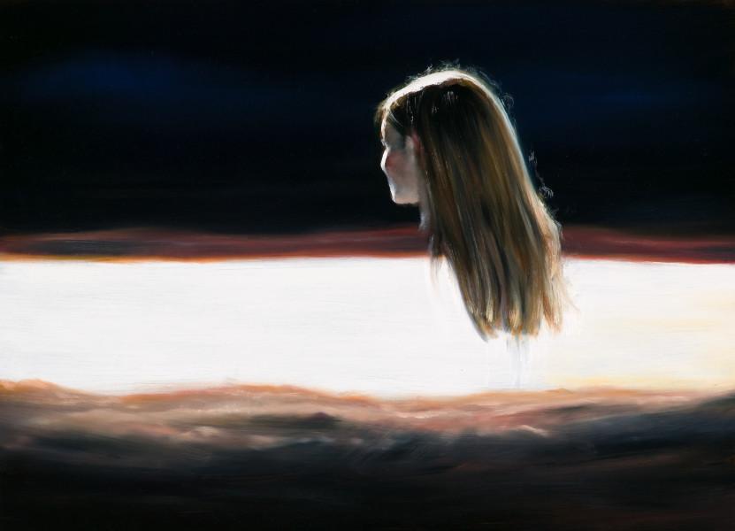 Louise Hearman Untitled #1237, 2007; oil on masonite; 61 x 92 cm; enquire