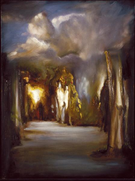 Louise Hearman Untitled #408, 1995; oil on masonite; 92 x 69 cm; enquire